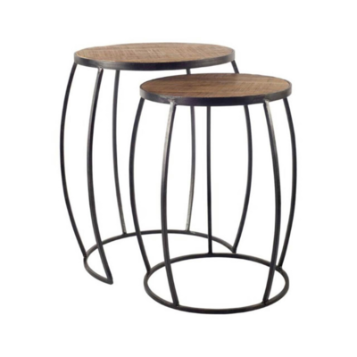 CAPE IV NESTING ROUND END TABLE