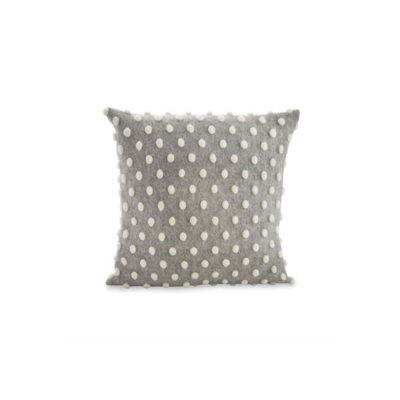 Mud Pie SQUARE POM POM PILLOW