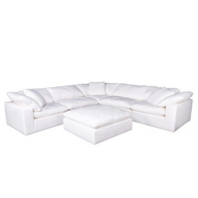 MODULAR SECTIONAL, CREAM WHITE