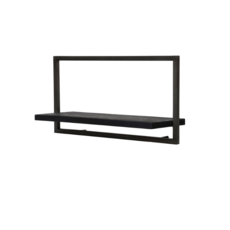 BODRUM SHELF, TYPE A, BLACK