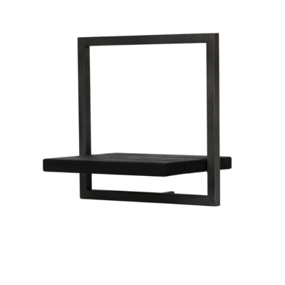 BODRUM SHELF, TYPE B, BLACK