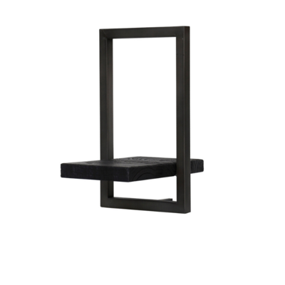 BODRUM SHELF, TYPE E, BLACK