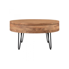 CAPPER STORAGE COFFEE TABLE