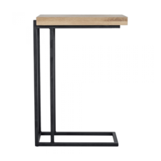 LIMA C SHAPE SIDE TABLE