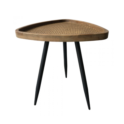 RANDY RATTAN SIDE TABLE