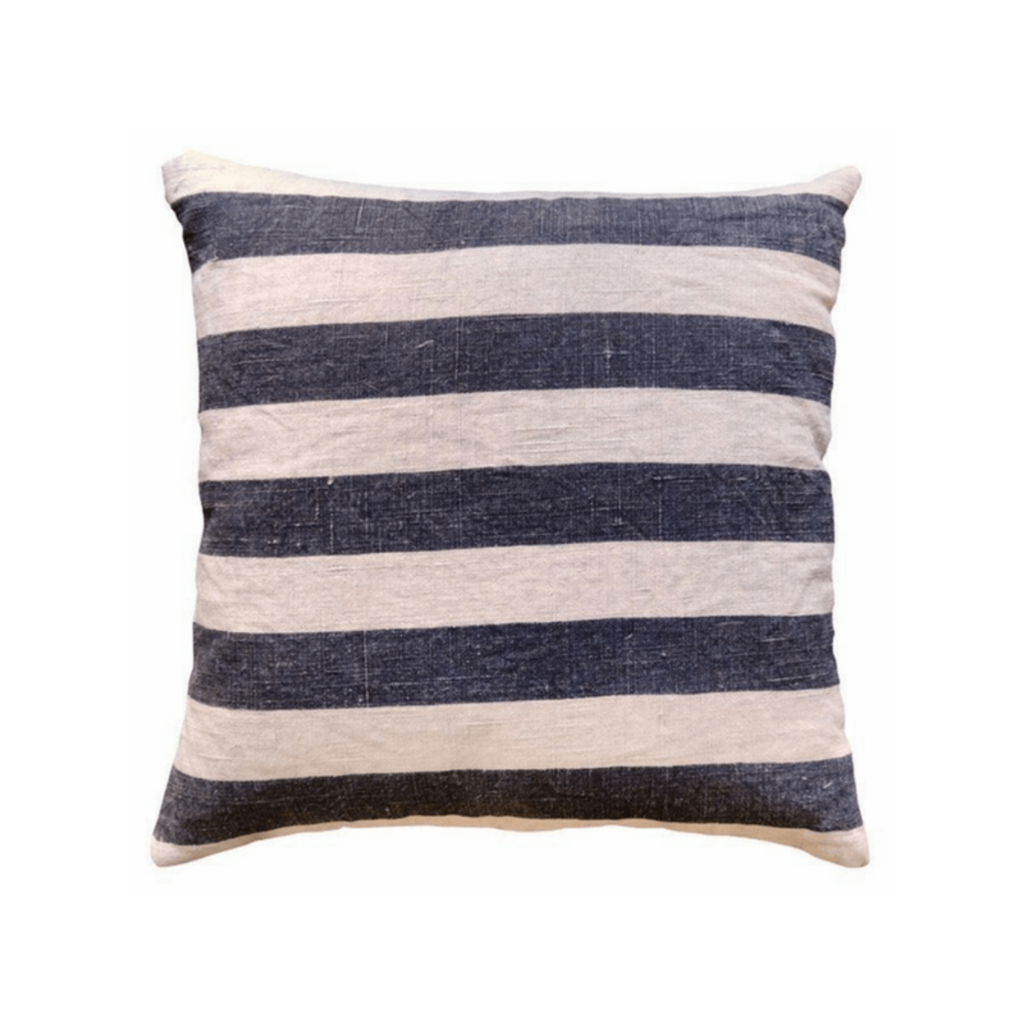 SugarBoo BLACK STRIPES PILLOW