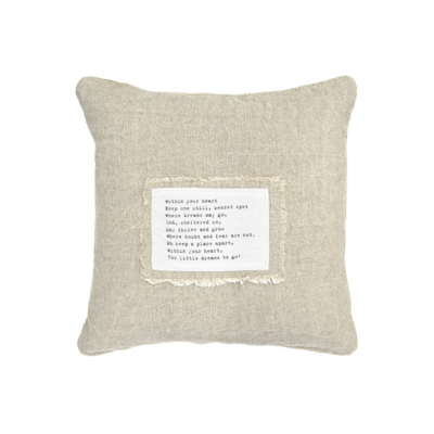 SugarBoo PATCH WITHIN YOUR HEART PILLOW