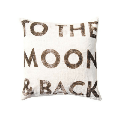 SugarBoo TO THE MOON AND BACK PILLOW