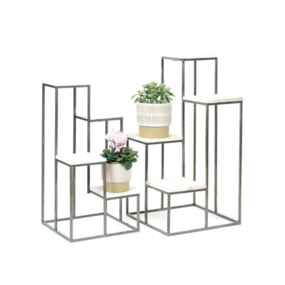 4 TIER PLANT STAND, SMALL
