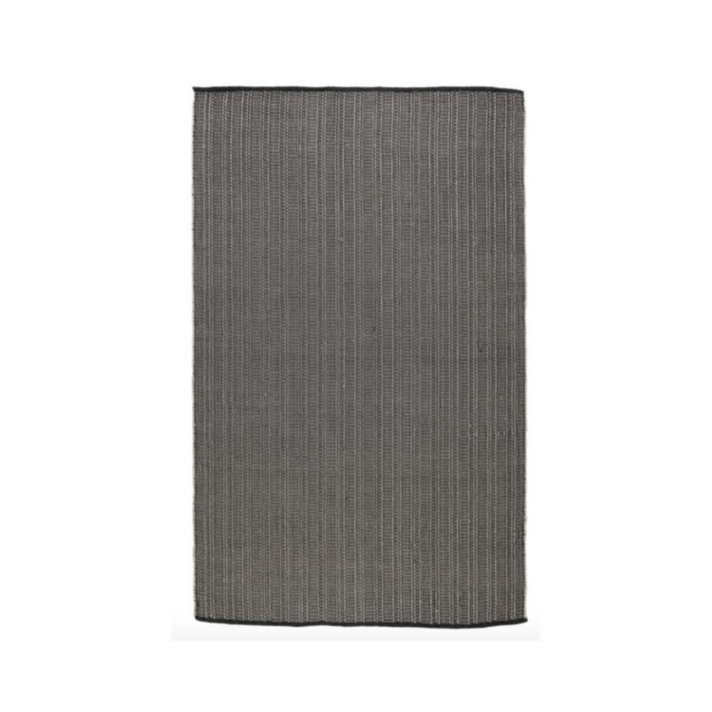 Classic Home YUMA CHARCOAL RUG, INDOOR/OUTDOOR, 2 X 3'