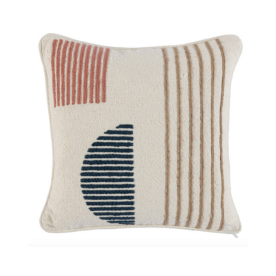 Classic Home MONA CLAY MULTI PILLOW, 18 X 18
