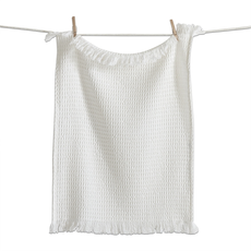 Design Home WAFFLE WEAVE DISH TOWEL, NATURAL