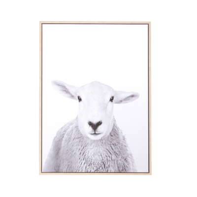 Style in Form CANVAS WALL ART, SHEEP