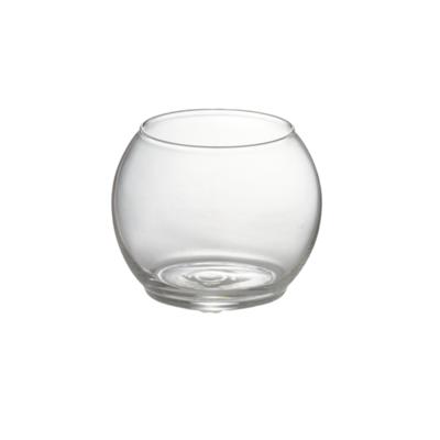 "GLASS ROUND BUBBLE BALL, 10"""
