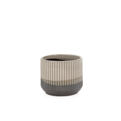 Torre Tagus PALMER LAYERED GLAZE CERAMIC DROP PLANTER, 5.5""