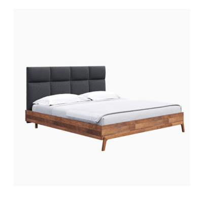 REMIX QUEEN BED, GREY