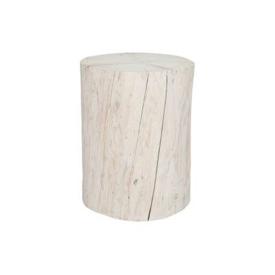 Style in Form WIDE SALISH STUMP, WHITE, 21""