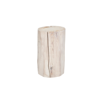 Style in Form SALISH ROUND STUMP, WHITE, 16""