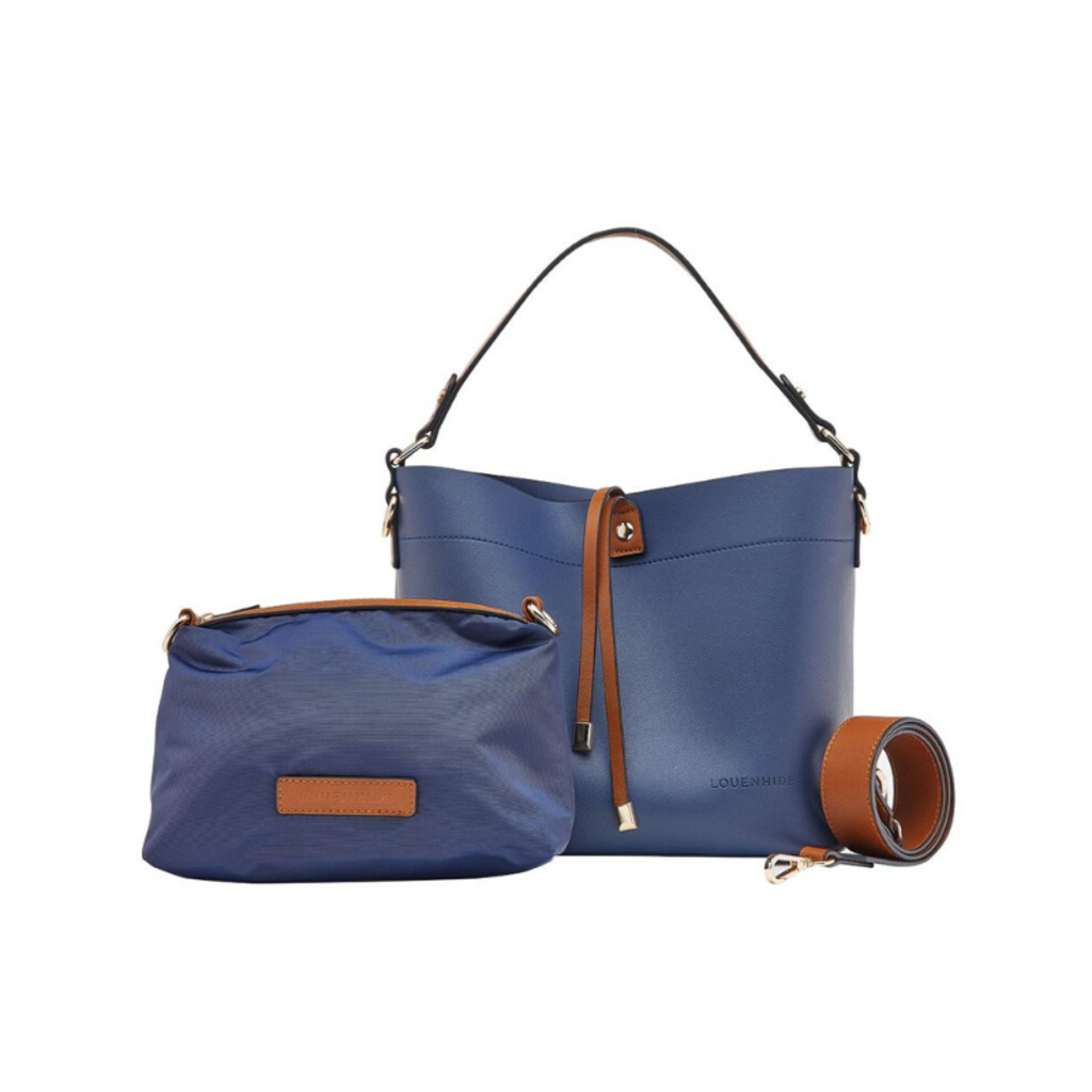 GABBY HANDBAG, 2IN1, NAVY