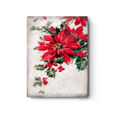 Sid Dickens SID DICKENS TILE, POINSETTIA