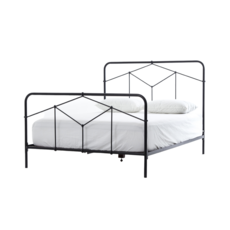 Four Hands CASSIDY KING BED, BLACK