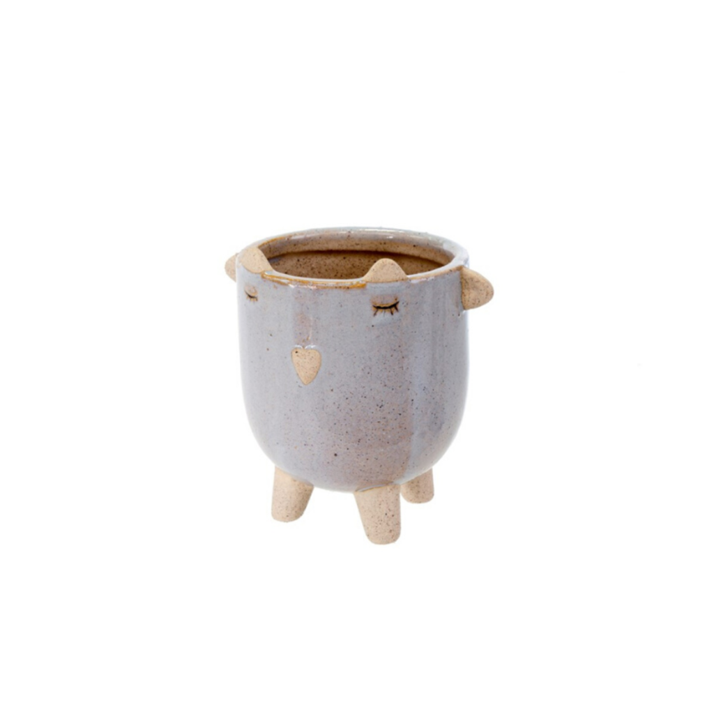 LITTLE LAMB POT, LAVENDER