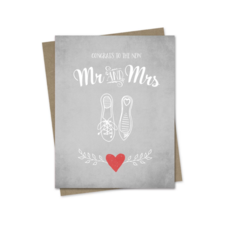 Hairbrained Schemes CONGRATS TO THE MR & MRS, GREETING CARD