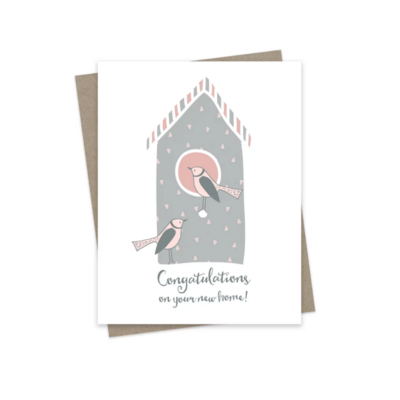 Hairbrained Schemes CONGRATS ON YOUR NEW HOME, GREETING CARD