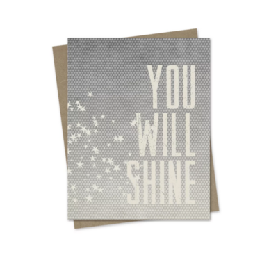 Hairbrained Schemes YOU WILL SHINE, GREETING CARD