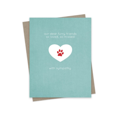 Hairbrained Schemes OUR FURRY FRIENDS, GREETING CARD