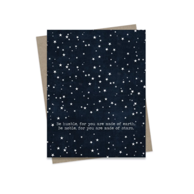 Hairbrained Schemes BE HUMBLE, GREETING CARD