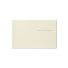 Design Home DID YOU EVER NOTICE, GREETING CARD