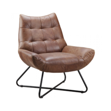 ACADEMIC LOUNGE CHAIR, CAPPUCCINO