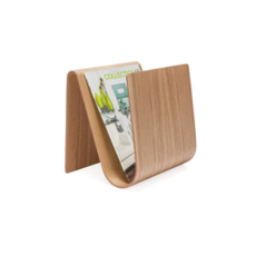 Torre Tagus KENTO CURVE WOODEN MAGAZINE RACK