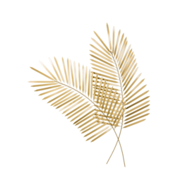 Torre Tagus FEATHERED PALM WALL DECOR