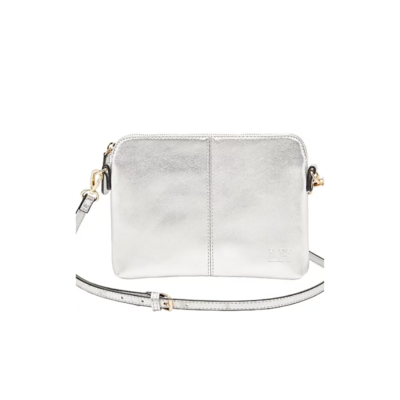 MIRANDA CROSS BODY BAG, SILVER