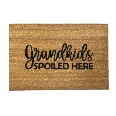 Benvenuto GRANDKIDS SPOILED HERE COIR DOORMAT