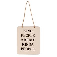 KIND PEOPLE SIGN