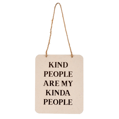 KIND PEOPLE SIGN
