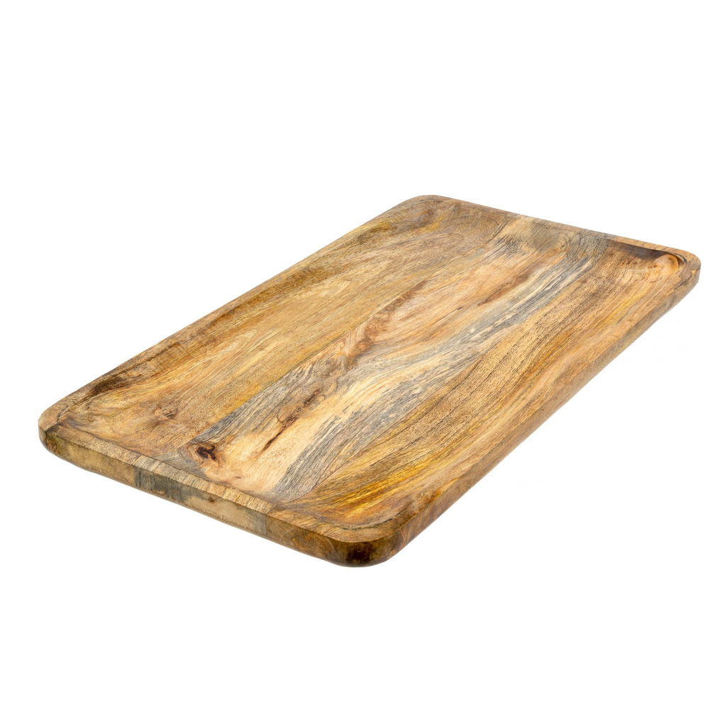 DOLCE WOODEN TRAY, LARGE