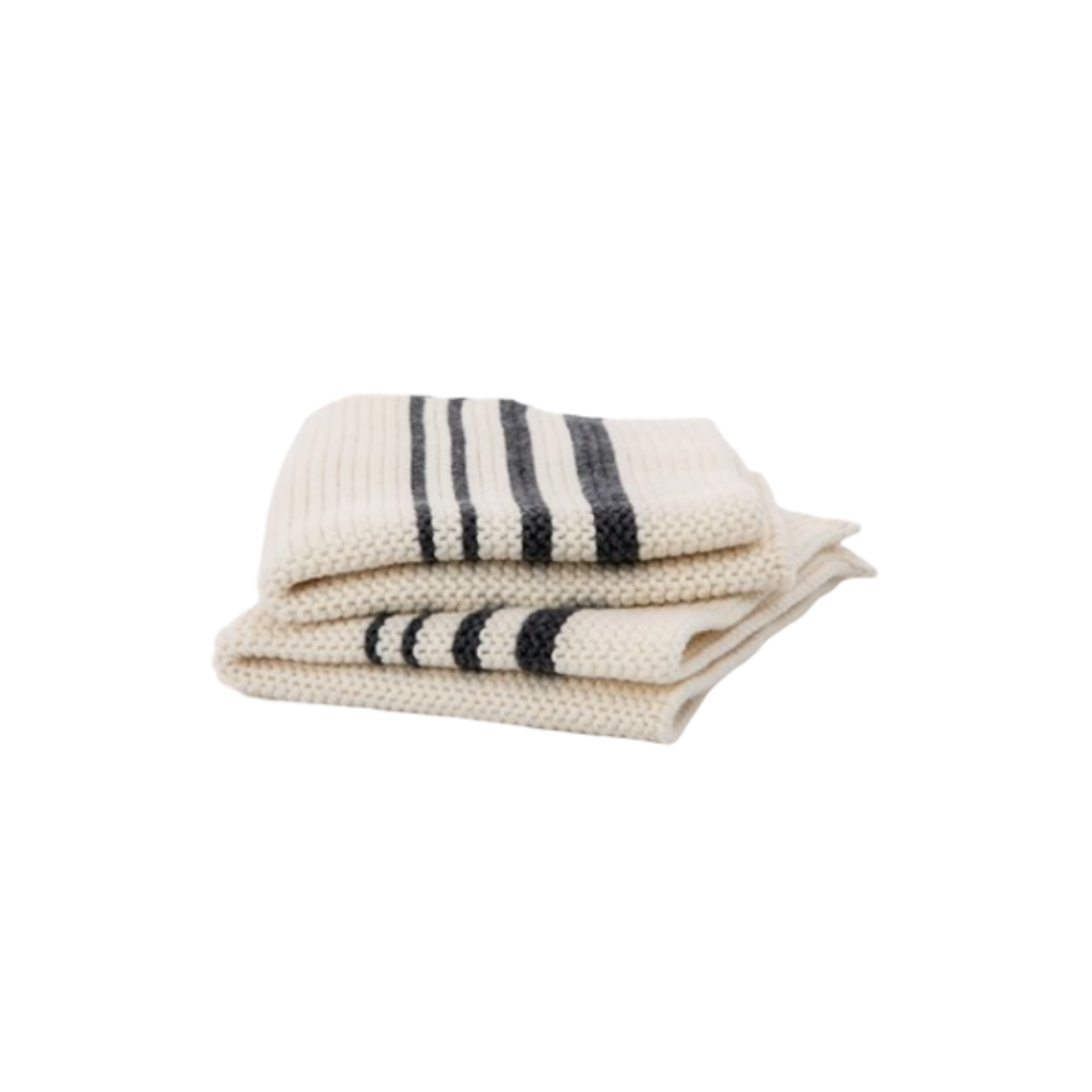 Brunelli STRIPED DISH CLOTH, SET OF 2