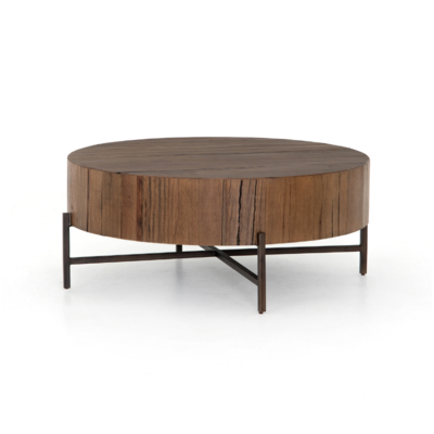 Classic Home TINSLEY COFFEE TABLE, NATURAL BROWN