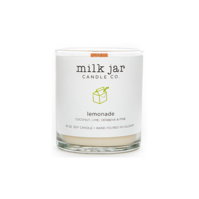 Milk Jar Candle Company Inc. MILK JAR, LEMONADE
