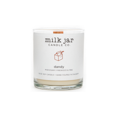 Milk Jar Candle Company Inc. MILK JAR CANDLE, DANDY