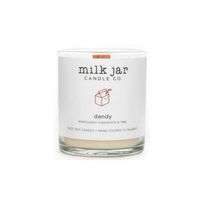 Milk Jar Candle Company Inc. MILK JAR CANDLE, DANDY