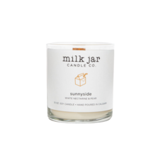 Milk Jar Candle Company Inc. MILK JAR CANDLE, SUNNYSIDE