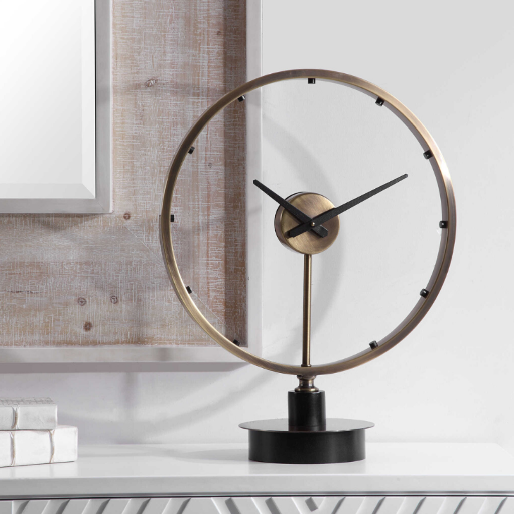Uttermost MAVIS TABLE CLOCK