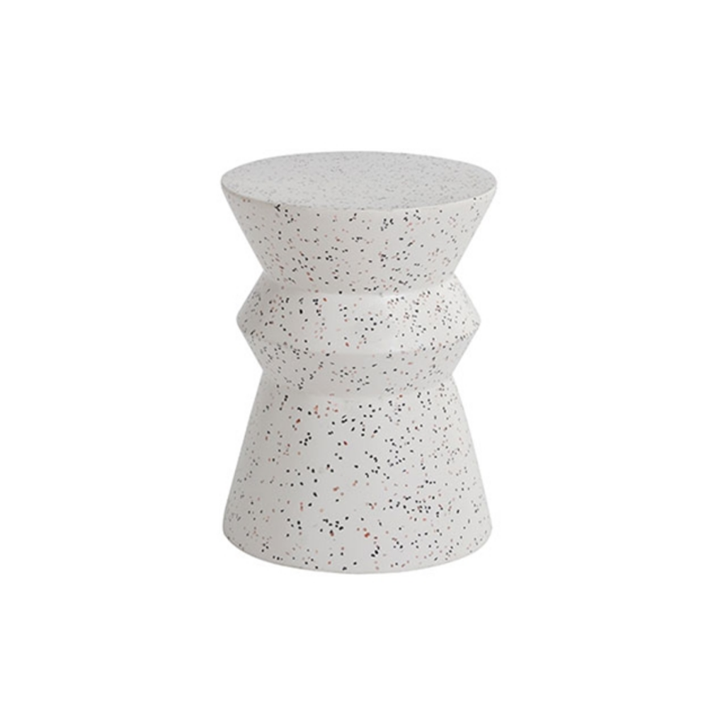SAVANA TERRAZZO TABLE/STOOL