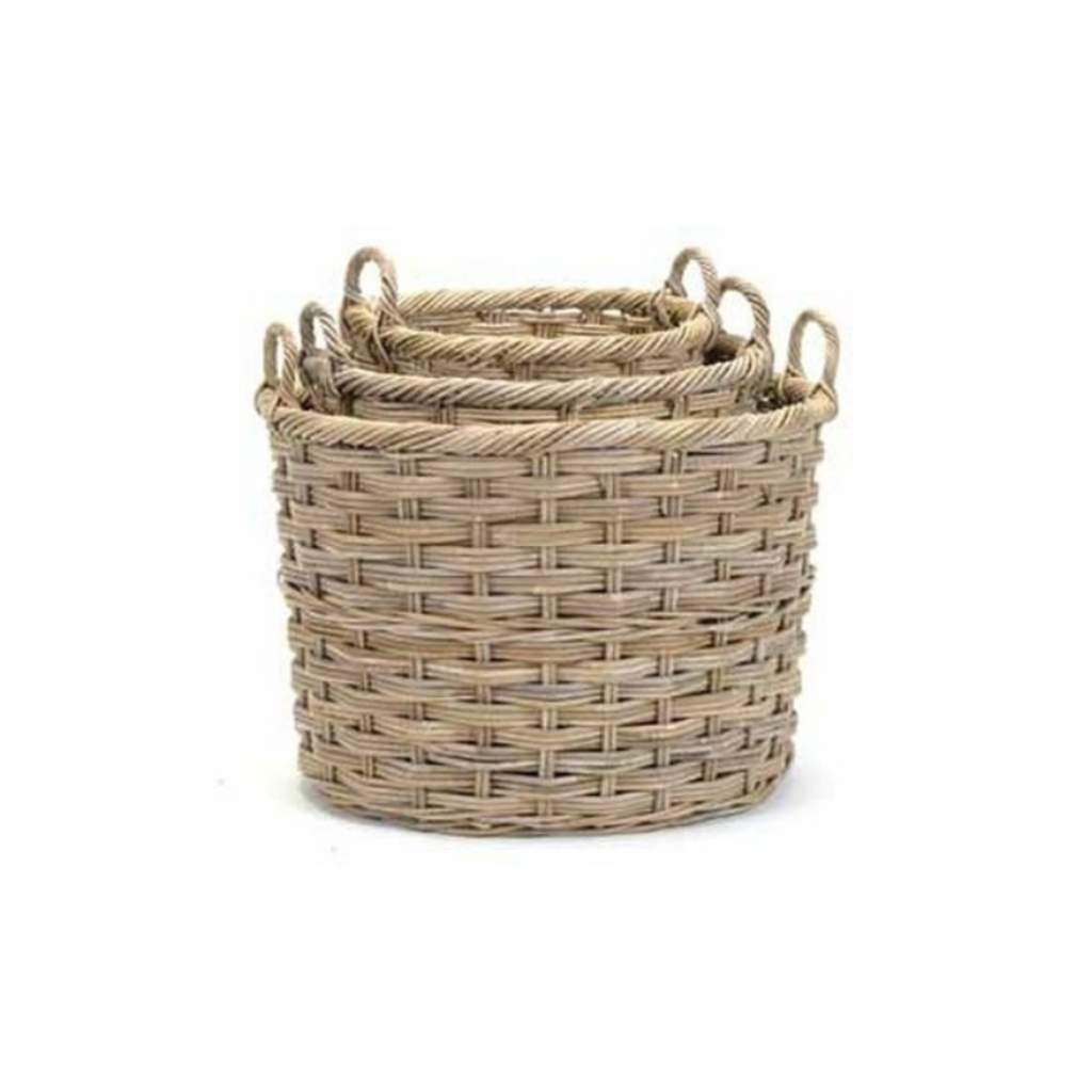 Bacon OVAL BASKET, LARGE