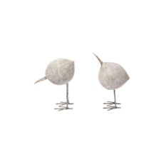 WOODEN BIRD DECOR